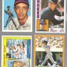 ROY SMALLEY Sr. + Jr. (4) Card Lot - 4-Teams