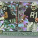 TIM BROWN 1993 Pro Set College Connections Prism Ins. #CC4