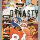 OZZIE NEWSOME / SHANNON SHARPE 1994 SC Dynasty + Destiny Insert