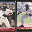 TONY GWYNN 1992 + 1993 Post Cereal Inserts - PADRES