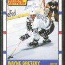 WAYNE GRETZKY 1990 Score Record Setters #347.  KINGS