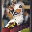 KERRY COLLINS 1995 Superior Pix Draft Insert #2 of 4.  Penn State