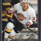 PAVEL BURE 1994 Ultra Speed Merchant Ins. #1 of 10.  CANUCKS