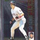 TIM SALMON 1996 Topps Profiles by Puckett Foil Insert #AL-20.  ANGELS