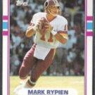 MARK RYPIEN 1989 Topps Super Rookie #253.  REDSKINS