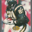 NATRONE MEANS 1995 Fleer TD Sensations Insert #3 of 10.  CHARGERS