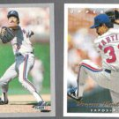 DENNIS MARTINEZ 1993 Fleer #462 + 1993 Upper Deck #232.  EXPOS