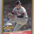 JACK MORRIS 1986 Donruss odd #27.  TIGERS