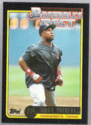 KIRBY PUCKETT 1992 Topps McD's Best Gold #19 of 44.  TWINS