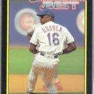 DOC GOODEN 1992 Topps McD's Best GOLD #32 of 44.  METS