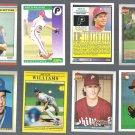 MATT WILLIAMS (8) Card Lot (1988 - 1993)  3-Teams