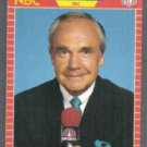 DICK ENBERG 1989 Pro Set Announcer #24.  NBC