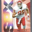 TONY GONZALEZ 2004 Upper Deck SPX #49.  CHIEFS