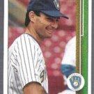 PAUL MOLITOR 1989 Upper Deck #525.  BREWERS