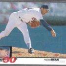 NOLAN RYAN 1995 UD CC 90's Best #52.  RANGERS