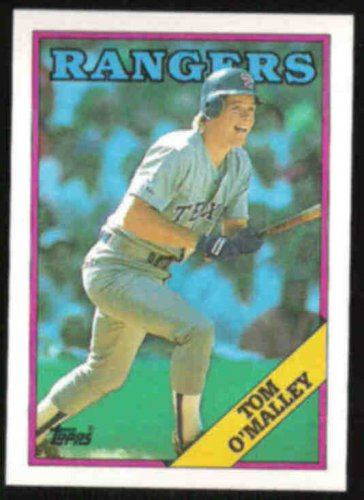 TOM O'MALLEY 1988 Topps #77.  RANGERS
