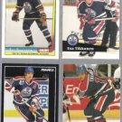 ESA TIKKANEN (4) Card Lot (1992 + 1992)  OILERS