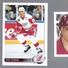 STEVE YZERMAN (3) Card Lot (1991 + 1992)  WINGS