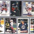 TEEMU SELANNE (7) Card Lot (1993 - 95 + 2002)  JETS / SHARKS