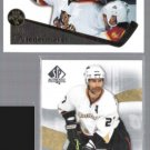 ROB NIEDERMAYER 1995 Pinnacle + SCOTT 2008 UD SP Authentic.  FLA / ANH