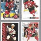 SCOTT STEVENS (5) Card Lot (1992 - 1995).  DEVILS