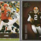 TIM COUCH 2003 Playoff Honors #88 + 2003 Hogg Heaven #33.  BROWNS