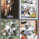 SEAHAWKS (4) Card Lot (Early 90's) w/ Largent, Kennedy++