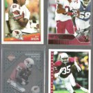 CARDINALS (4) Card Lot (1988 - 2004) w/ Williams, Hearst, Green+