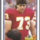 JOE VALERIO 1991 Upper Deck Rookie Force #613.  CHIEFS