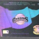 GIANTS 1992 Upper Deck Hologram Logo.