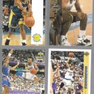 TIM HARDAWAY (4) Card Lot (1991 - 1994) w/ USA.  WARRIORS