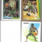 GARY PAYTON (3) Card Lot (1991 + 1992).  SONICS