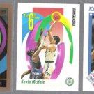 KEVIN McHALE 1991 Skybox + Hoops + CELTICS Logo Card 1990 Skybox.