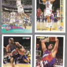 CHARLES BARKLEY (4) Card Lot (1991 - 1994)  76ers / SUNS