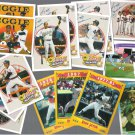 REGGIE JACKSON (15) Card Lot w/ 1987 Fleer Update.