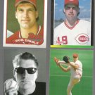 ROB DIBBLE (4) Card Lot (1989 + 1992).  REDS