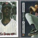 LaTROY HAWKINS 1995 Topps FS + 1994 UD Prospects foil.  TWINS