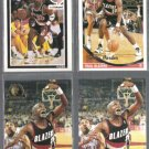 TERRY PORTER (4) Card Lot (1989, 93 + 94) w/ Gold.  BLAZERS