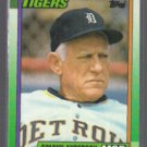 SPARKY ANDERSON 1990 Topps #609.  TIGERS