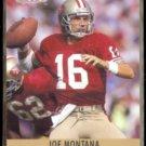 JOE MONTANA 1990 Pro Set #293.  49ers