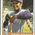 VADA PINSON 1976 Topps #415.  ROYALS