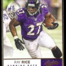 RAY RICE 2012 Panini Absolute #6.  RAVENS