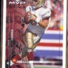 STEVE YOUNG 1999 Upper Deck MVP #165.  49ers