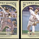 BROOKS ROBINSON #14 + JIM PALMER #7 2011 Topps Gypsy Queen.  ORIOLES