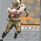 WARRICK DUNN 2001 Upper Deck SP #84.  BUCS