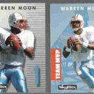 WARREN MOON 1992 PrimeTime #100 + #178.  OILERS