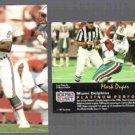MARK DUPER (2) 1991 Platinum #219.  DOLPHINS