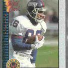 DEREK BROWN 1993 Wild Card Feild Force Insert #EFF-80.  GIANTS