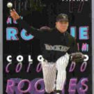 DAVID NIED 1993 Ultra All Rookie Team Insert #6.  ROCKIES