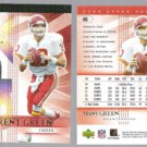 TRENT GREEN (2) 2004 Upper Deck SPX #46.   CHIEFS